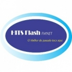 Logo da emissora Hits Flash FM Net