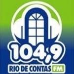 Logo da emissora Rádio Rio de Contas 104.9 FM