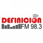 Logo da emissora Radio Definición 98.3 FM