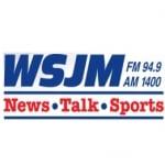 Logo da emissora WSJM 1400 AM 94.9 FM
