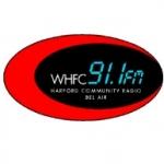 Logo da emissora Radio WHFC 91.1 FM