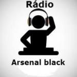Logo da emissora Rádio Arsenal Black