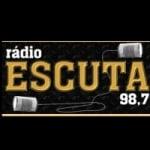 Logo da emissora R�dio Escuta 98.7 FM