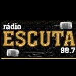 Logo da emissora Rádio Escuta 98.7 FM