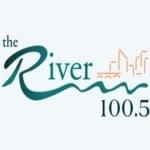 Logo da emissora WTRV 100.5 FM River