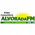 Logo da emissora Rádio Alvorada 98.5 FM