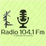 Logo da emissora R�dio Utopia 104.1 FM