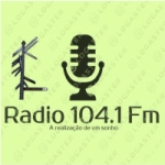 Logo da emissora Rádio Utopia 104.1 FM