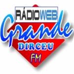 Logo da emissora Rádio Grande Dirceu FM