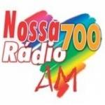 Logo da emissora R�dio Nossa R�dio 700 AM
