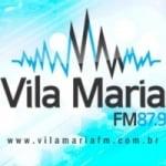 Logo da emissora Rádio Vila Maria 87.9 FM