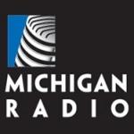 Logo da emissora WVGR 104.1 FM Michigan Radio