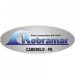 Logo da emissora Rádio Kebramar 104.9 FM