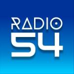 Logo da emissora Rádio 54