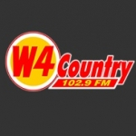 Logo da emissora WWWW 102.9 FM W4 Country