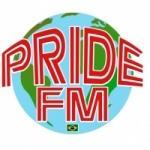 Logo da emissora Pride FM Brasil