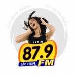 Logo da emissora Rádio São Felipe 87.9 FM