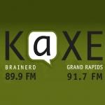Logo da emissora Radio KAXE 91.7 FM