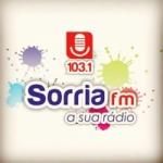 Logo da emissora Rádio Sorria 103.1 FM