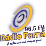 Logo da emissora Rádio Parná 96.5 FM