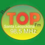 Logo da emissora R�dio Top 98.5 FM