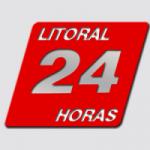 Logo da emissora Rádio Litoral 24 horas