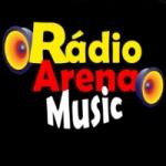 Logo da emissora Rádio Arena Music