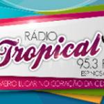 Logo da emissora R�dio Tropical de Espinosa FM