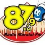 Logo da emissora R�dio Maraial 87.9 FM