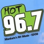 Logo da emissora Radio KDOG 96.7 FM