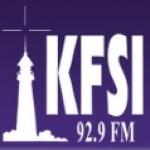 Logo da emissora Radio KFSI 92.9 FM