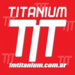 Logo da emissora Radio Titanium 93.3 FM