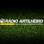Logo da emissora Rádio Artilheiro