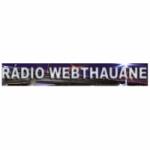 Logo da emissora Rádio Web Thauane