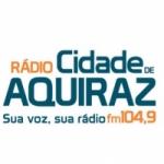 Logo da emissora Radio Cidade de Aquiraz 104.9 FM
