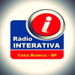 Logo da emissora Rádio Interativa Casa Branca