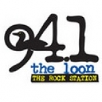 Logo da emissora KKLN 94.1 FM The loon