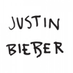 Logo da emissora Rádio Justin Bieber