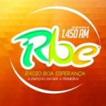 Logo da emissora Rádio Boa Esperança 1450 AM