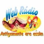 Logo da emissora Web R�dio Antigamente Era Assim
