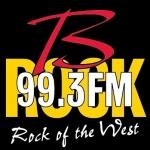 Logo da emissora Radio B Rock 99.3 FM