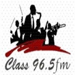 Logo da emissora Radio Class 96.5 FM
