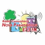 Logo da emissora Rádio Nova Paraisópolis 87.5 FM