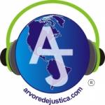 Logo da emissora Web Rádio Árvore de Justiça
