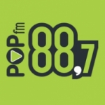 Logo da emissora Radio Pop 88.7 FM