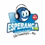 Logo da emissora Rádio Esperança 106.3 FM