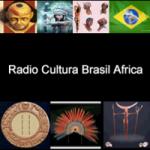Logo da emissora Rádio Cultura Brasil África