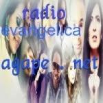 Logo da emissora Rádio Evangélica Ágape