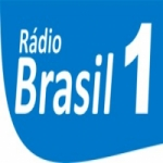 Logo da emissora Rádio Brasil 1