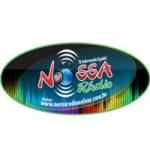 Logo da emissora Nossa Rádio Online